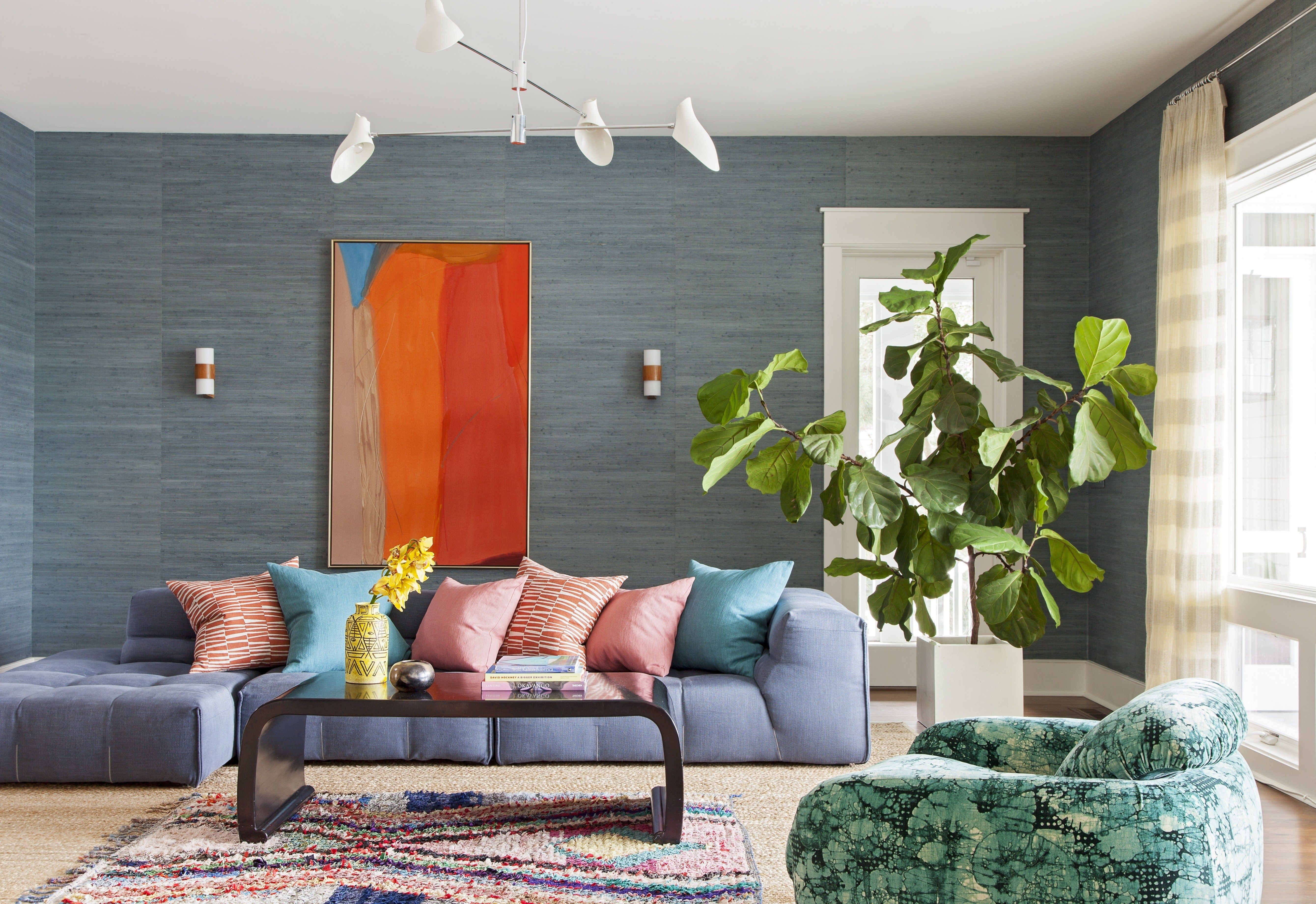 The Secret To Pairing Bold Colors Living Room Color Schemes Living Room Colors Room Color Schemes Beautiful colorful living rooms