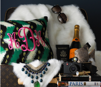 styling for luxury monogram lookbook  www.ashlinakaposta.com