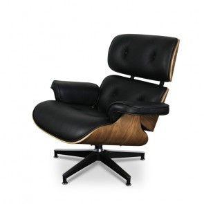 Eames Lounge Sessel Schwarz SA