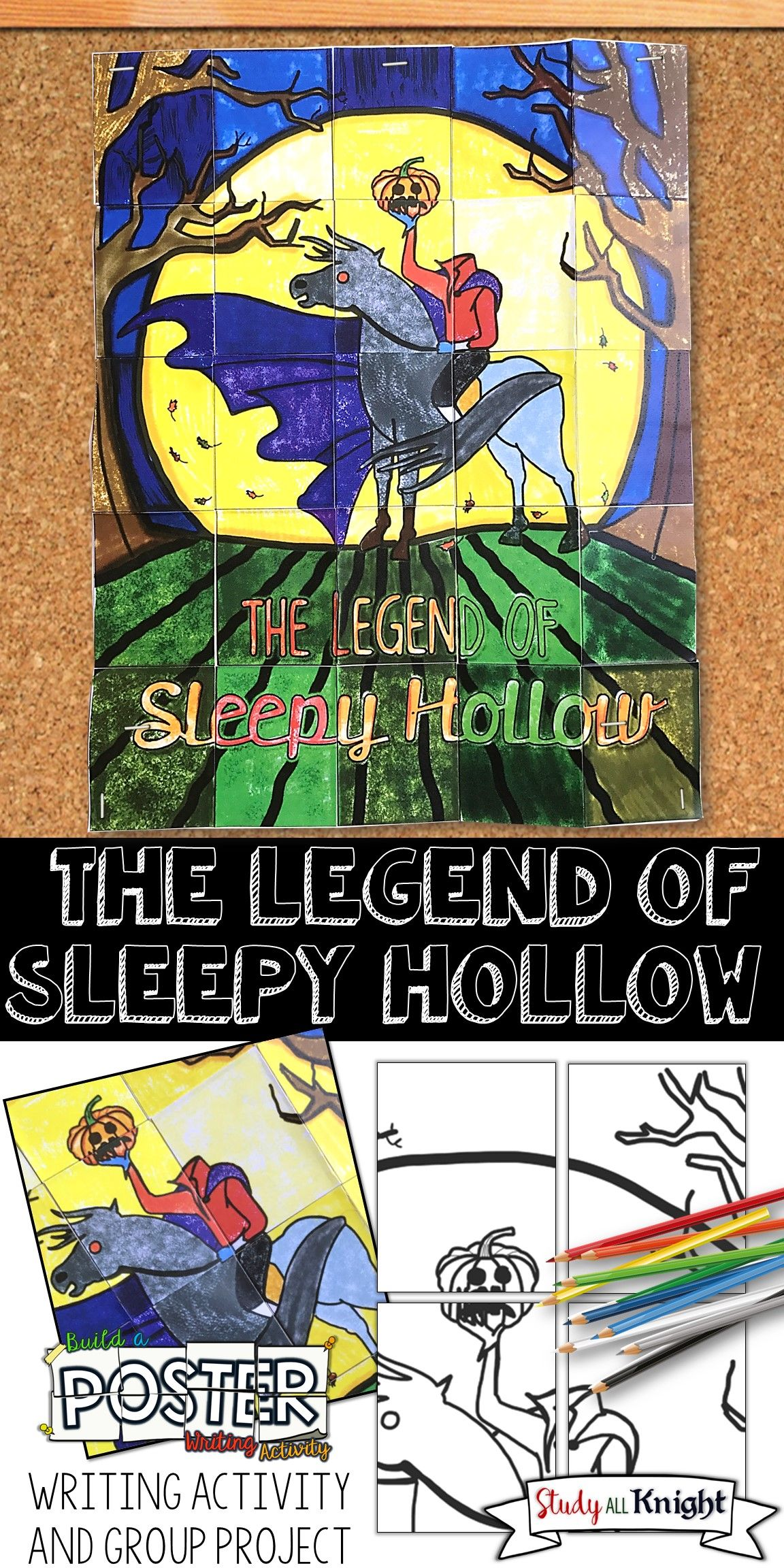 The Legend Of Sleepy Hollow Collaborative Poster