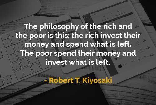Kata Kata Motivasi Robert T Kiyosaki Filosofi Orang Kaya Dan