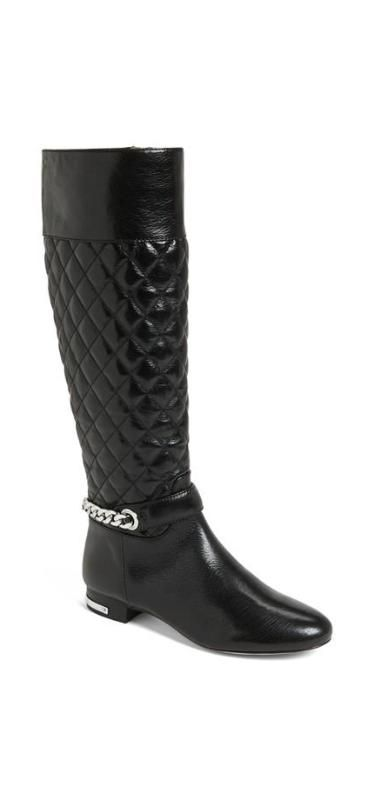 Quilted, boot perfection.