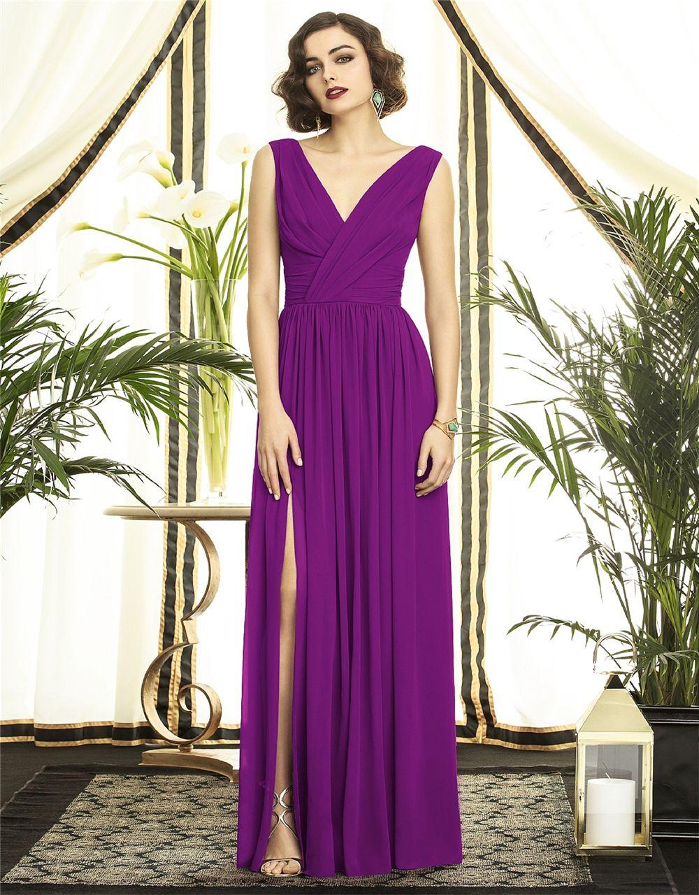 awesome Красивые фиолетовые платья (50 фото) — Самые выигрышные ...