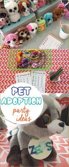 Pet Adoption Party Paige S Party Ideas Pet Adoption Party Pet Adoption Birthday Party Adoption Party
