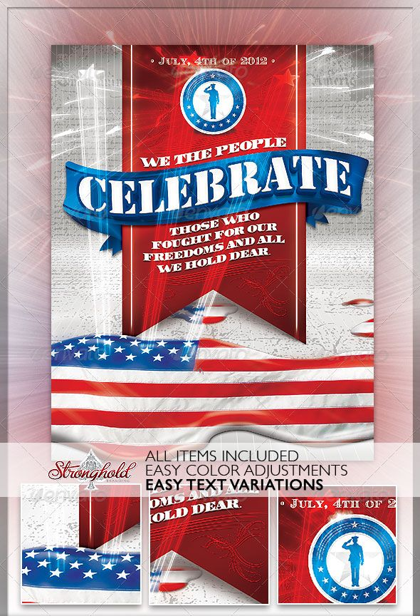 16 Amazing Independence Day PSD Flyer Templates Flyer template - independence day flyer