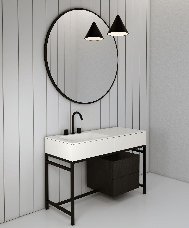 Ceramica Cielo Kuche Und Bad Archiexpo Meuble Pour Vasque A Poser Interieur Salle De Bain Meuble Vasque