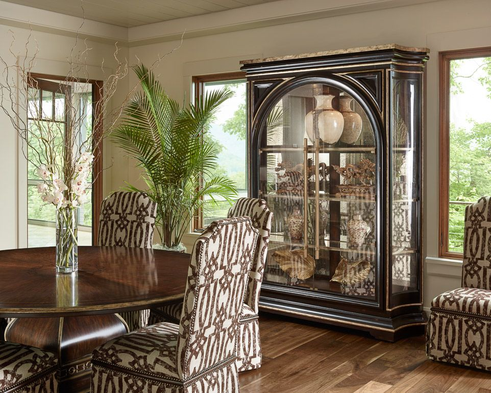 The Round Dining Table Stunning 70 Inch Wide Display Cabinet