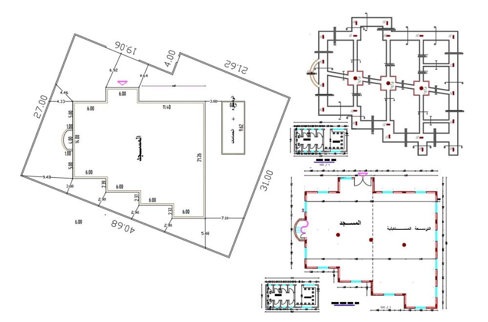 Multipurpose Hall Floor Plan Design Dwg File In 2021 Multipurpose Hall Floor Plan Design Plan Design