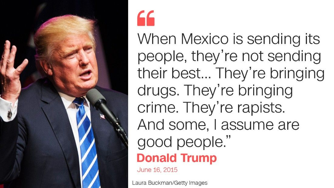 Trump Quotes Trump Quote One Mexico  2016  Pinterest