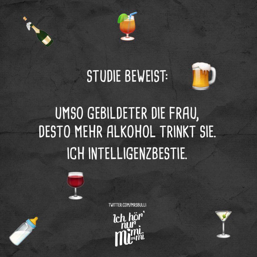 Bildergebnis Für Intelligente Frauen Trinken Mehr Alkohol