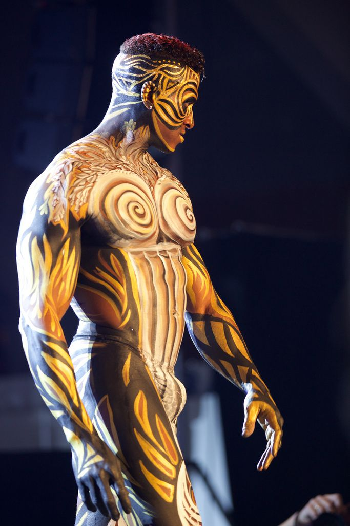 Good, Male body painting opinion you