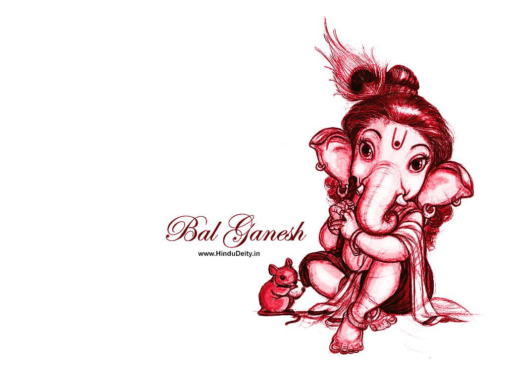 Cute Little Ganesh Wallpaper Free Download