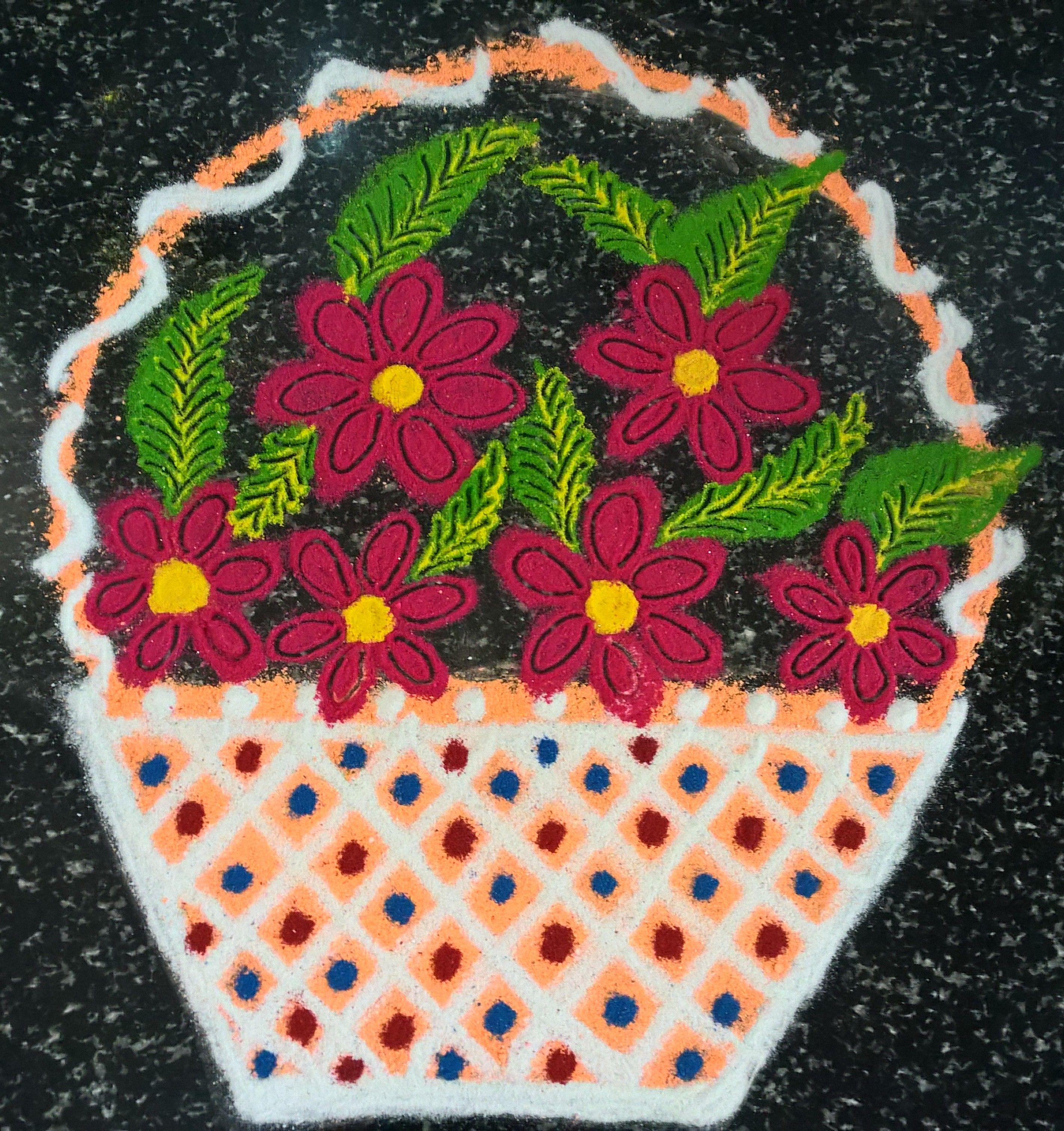 Idea by durga kris on rangoli Unique flowers, Unique