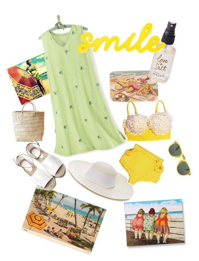 """Wish You Were Here!"" by ahapplet on Polyvore featuring Sensi Studio, Indego Africa, Olivine and Persol"