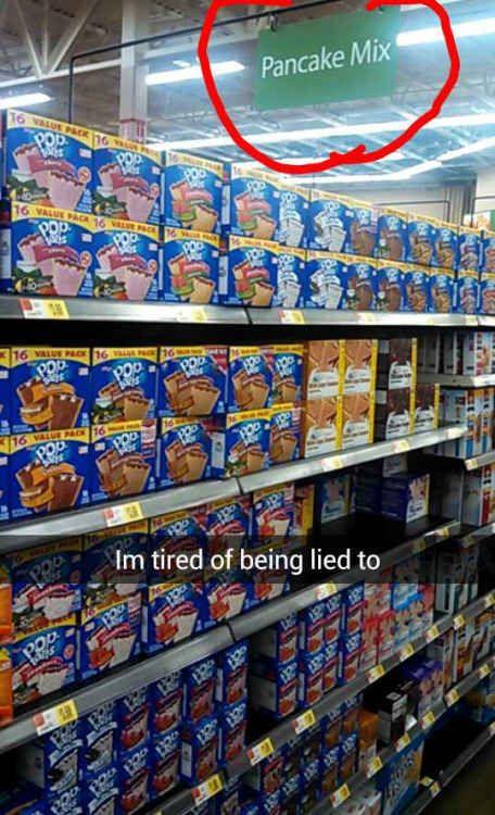 This plea to the supermarket gods: