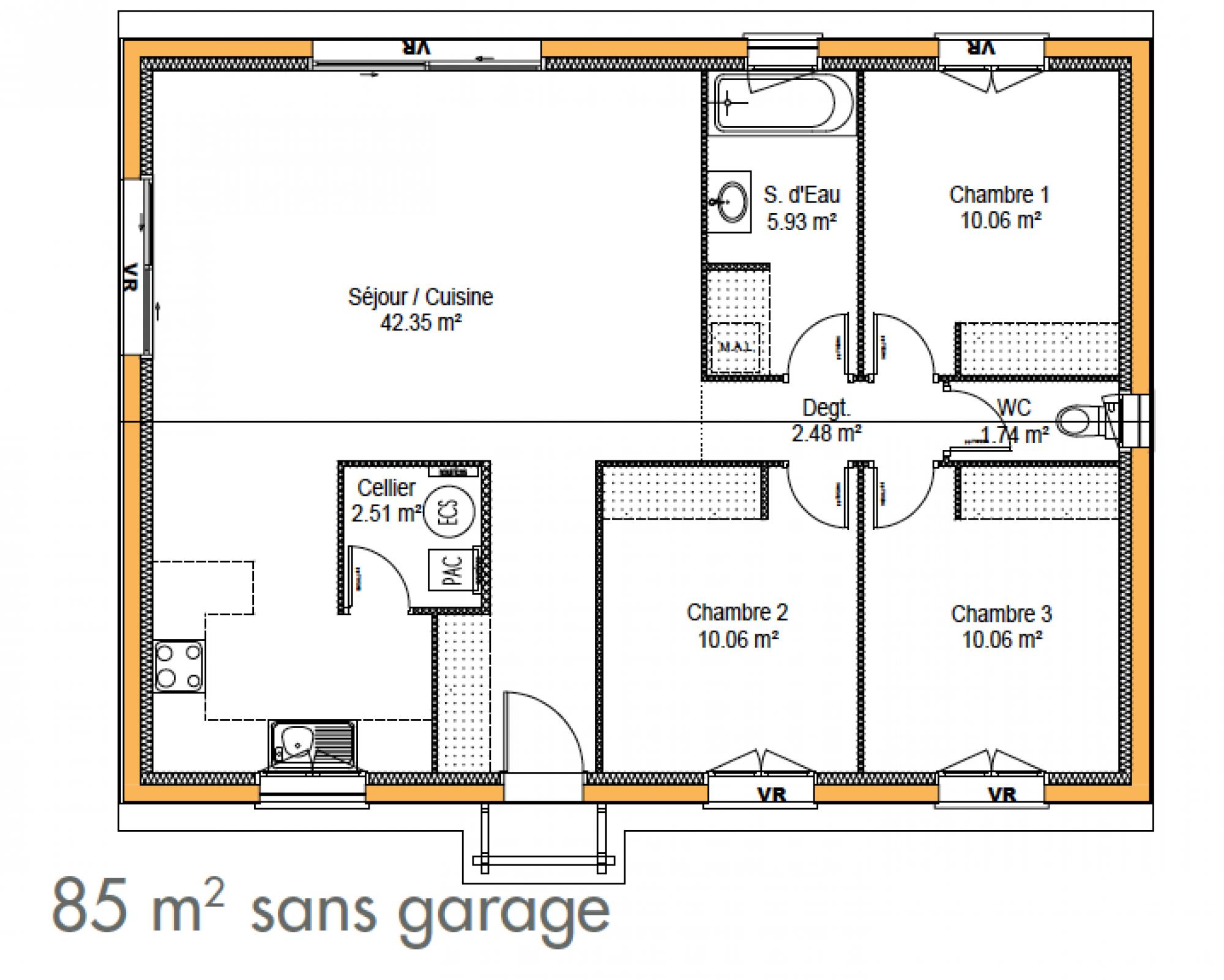Plans De Maisons Maison Ossature Bois Plan Maison Construction Maison