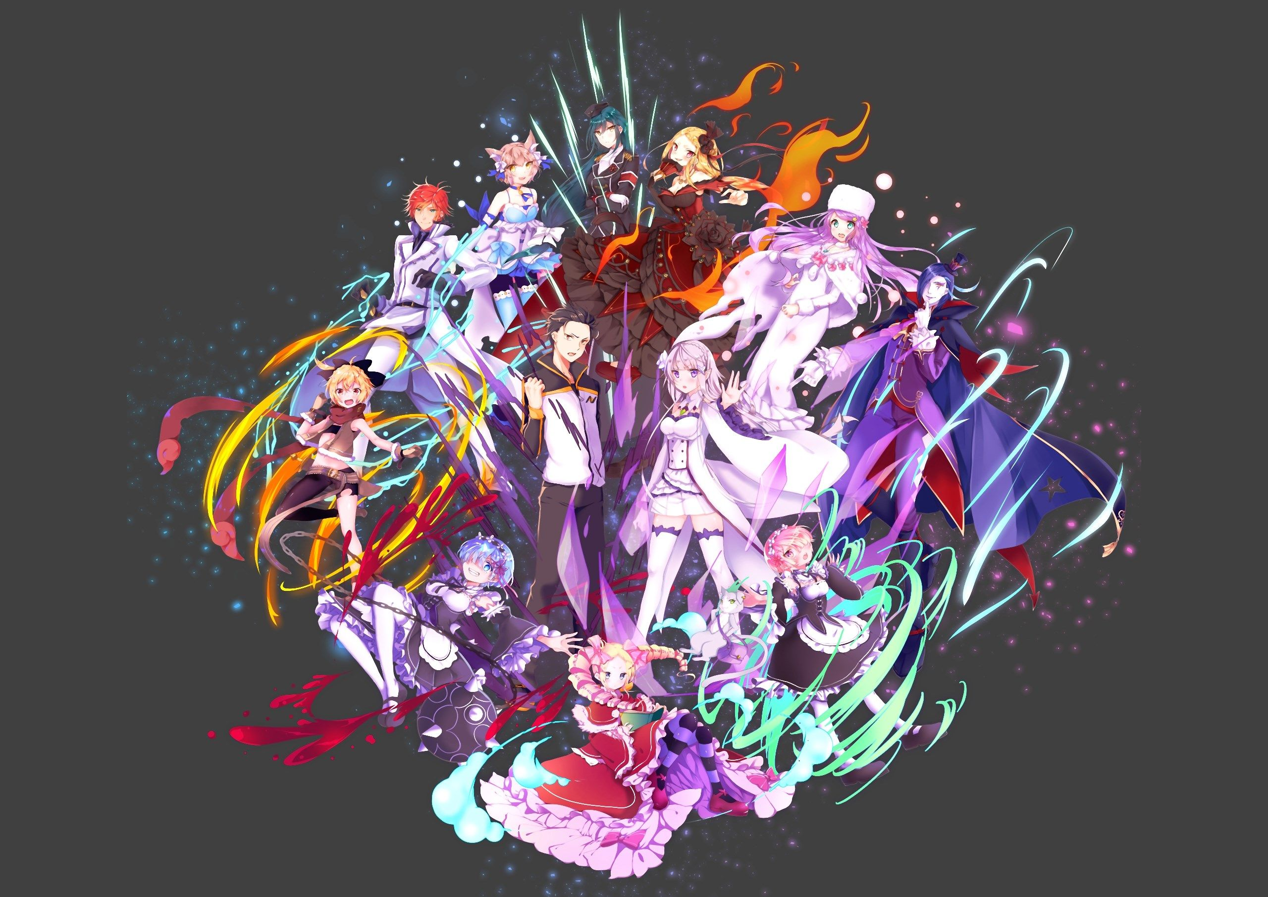 2560x1811 High Resolution Wallpaper rezero starting life