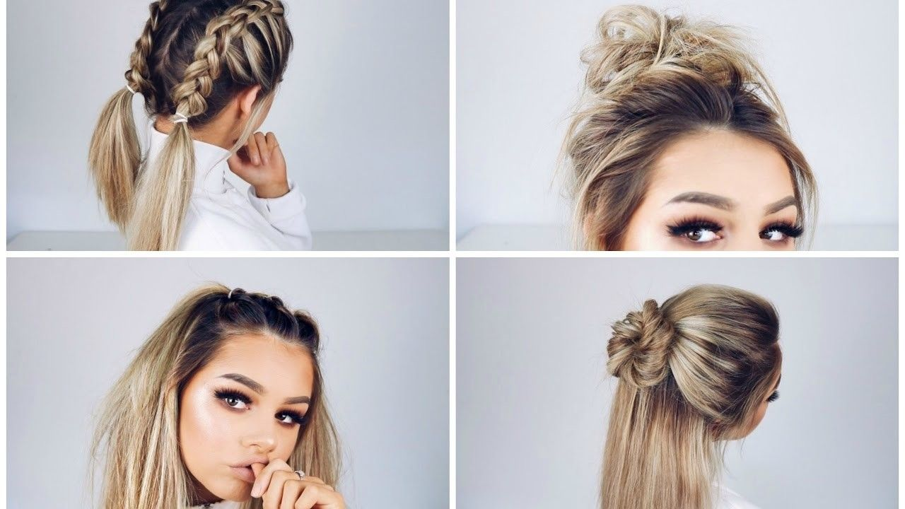 Hair Survive Finals My Study Tips Hair Makeup Hairstyles Quick Easy Hair Long Short Fast Simple Ni In 2020 Medium Hair Styles Hair Styles Quick Hairstyles