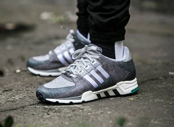 Adidas EQT Support Ultra (Core Black & Turbo) END.