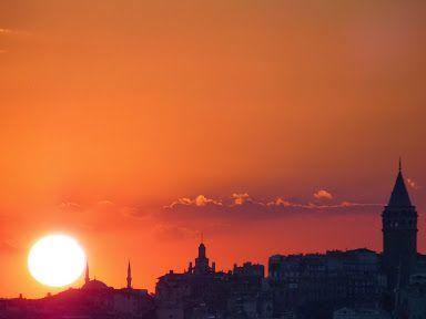 Yavuz Oncelay - Google+ Sunset....Uskudar , ISTANBUL  Aug.2013