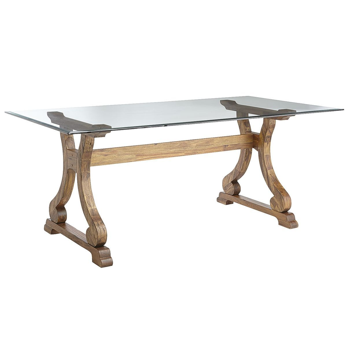 Marchella Rectangular Dining Table Base - Java | Pier 1 Imports ...
