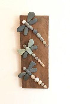 Tolle Ideen um mit Steinen zu basteln. Nr. 6 möchte ich auch! - DIY Bastelideen - Susi Pfennig #bastelnmitsteinen