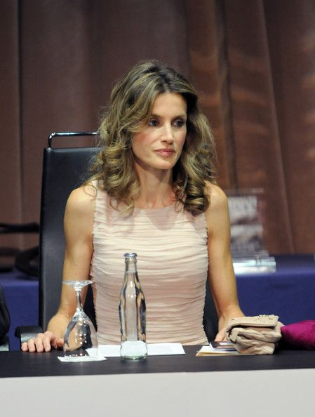 Queen Letizia of Spain Photos: Princess Letizia of Spain Visits Tenerife September 30, 2010