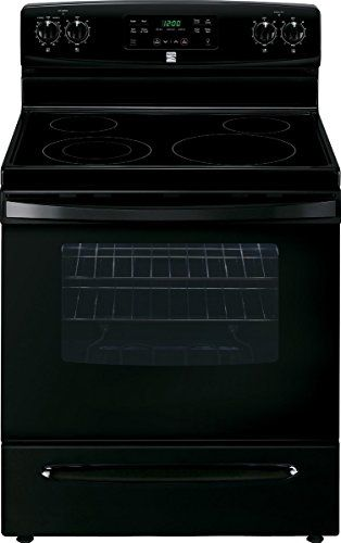 Ft Self Clean Electric Range In Black Includes Delivery And Available Select Southern California Chicago Area Zip Codes Best Value