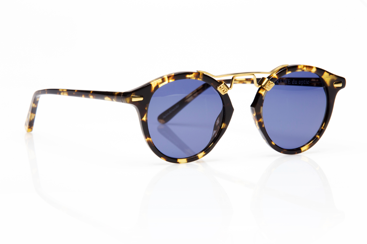 St. Louis in Bengal Tortoise Polarized 47mm