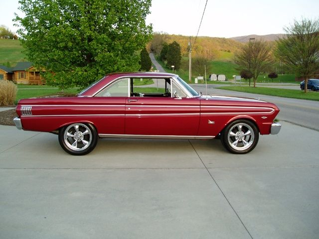 1964 Burgundy Color Ford Falcon Futura 2dr Coupe With Aftermarket