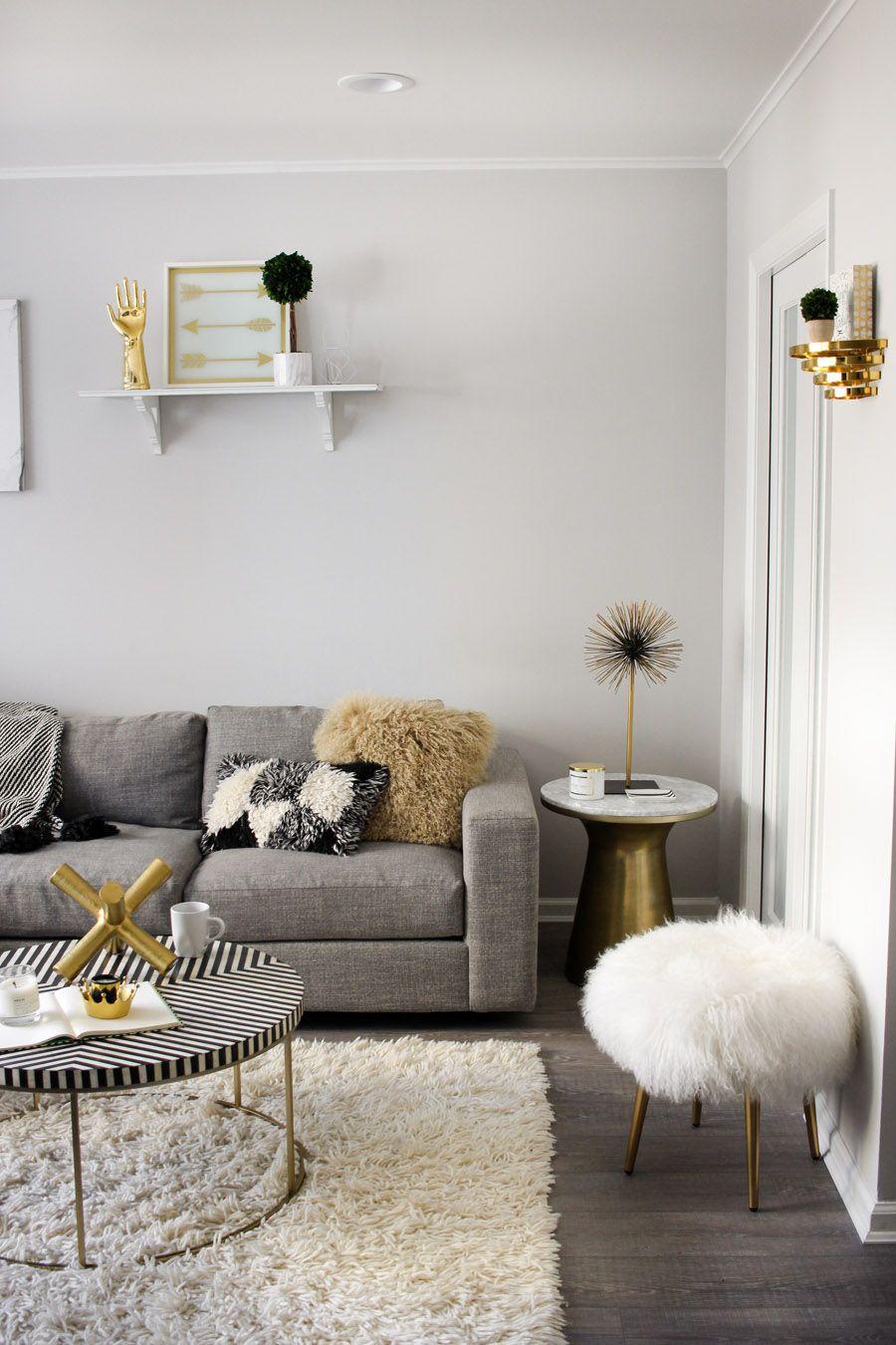 Steffy Kuncman' Monochrome Modern Living Room Interiors