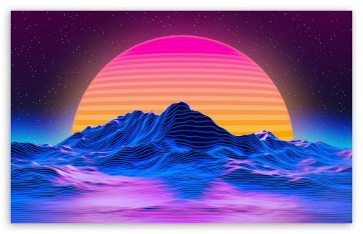 Sun Hd Wallpaper For 4k Uhd Widescreen Desktop Smartphone Desktop Wallpaper Art Computer Wallpaper Desktop Wallpapers Vaporwave Wallpaper