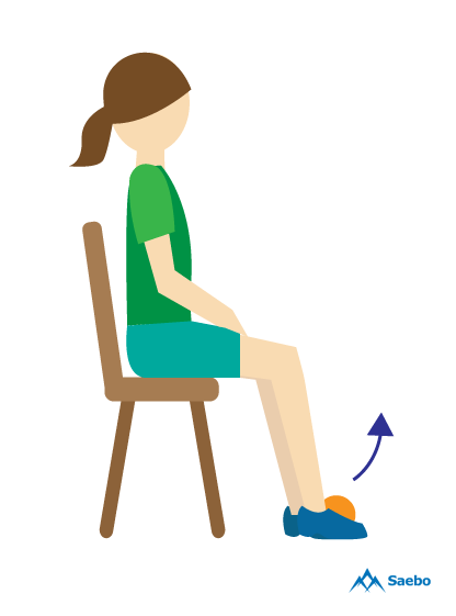 Exercises For Foot Drop Get Back On Your Feet Saebo Foot Drop Exercises Foot Drop Foot Exercises