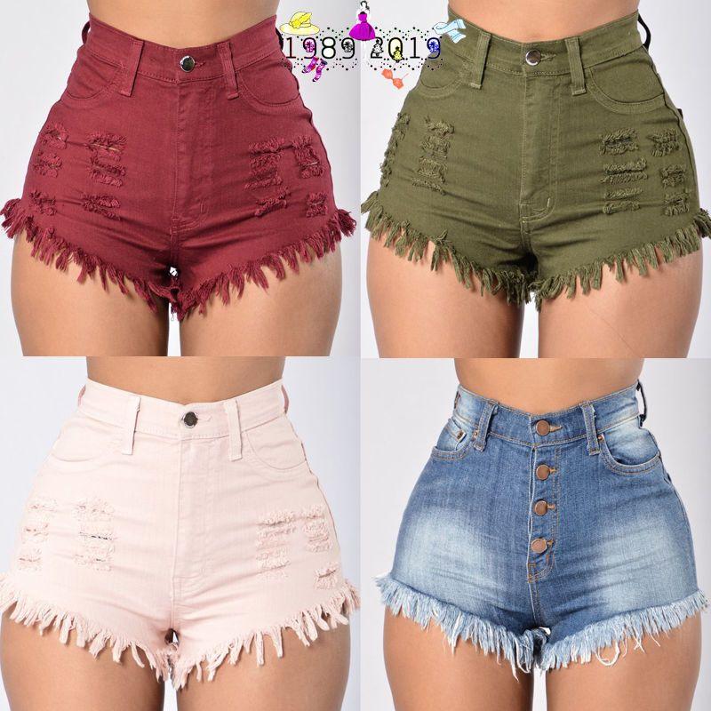 a2994987a1 Fashion Women Summer High Waist Denim Jeans Beach Pants Hot Casual Short  Shorts