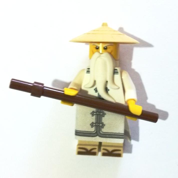 Lego Ninjago Movie Sensei Wu Minifigure 70618 Lego Ninjago Lego Ninjago Movie Ninjago