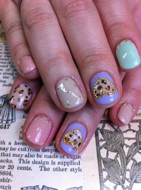 Love Nail Art Summer Trends 2012 Ideas