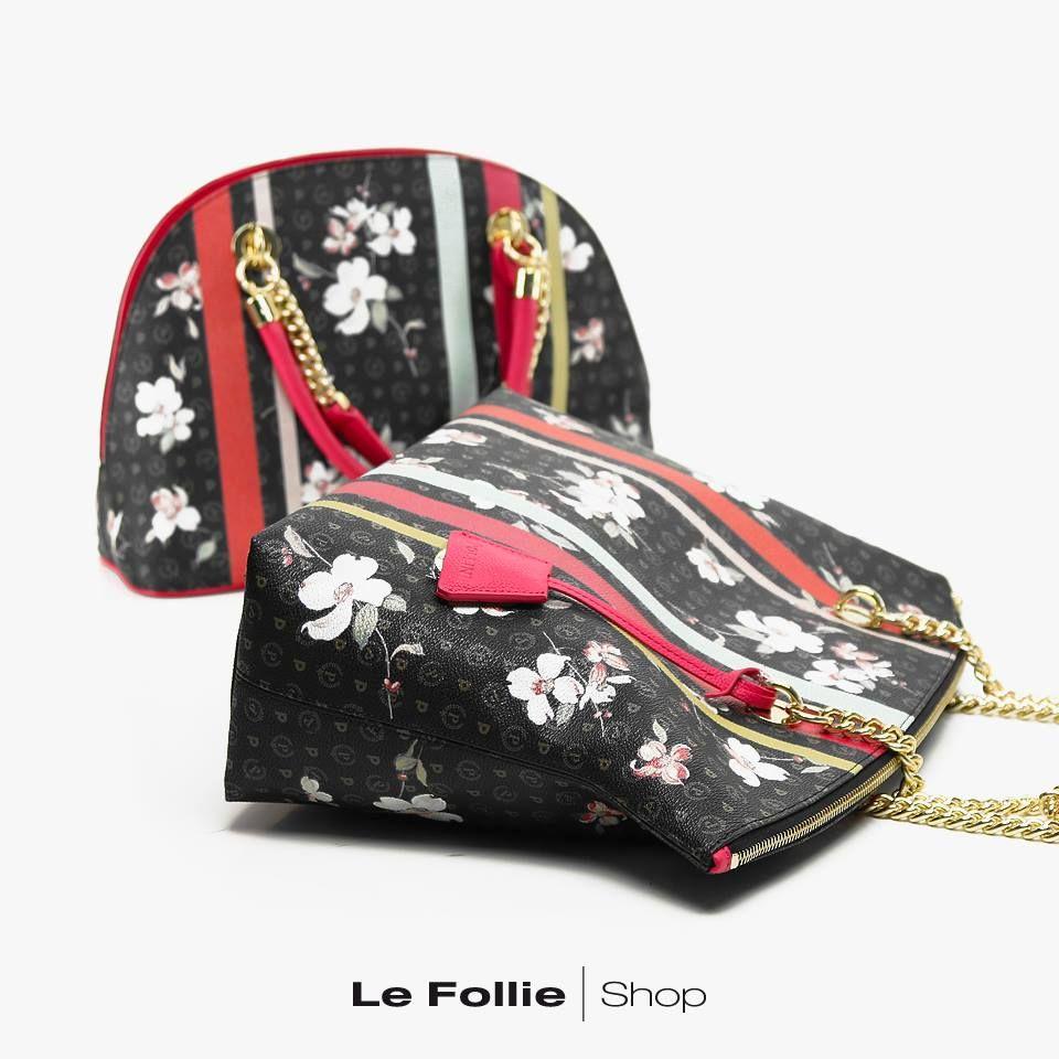 46122143a1 Borsa Flower/fuxia Pollini Studio   SPRING SUMMER 2018   Pinterest ...