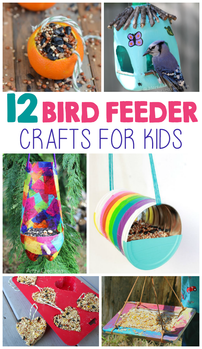 Bird feeders are a great way for you to enjoy wildlife with your kids. One of the best things about making your own bird