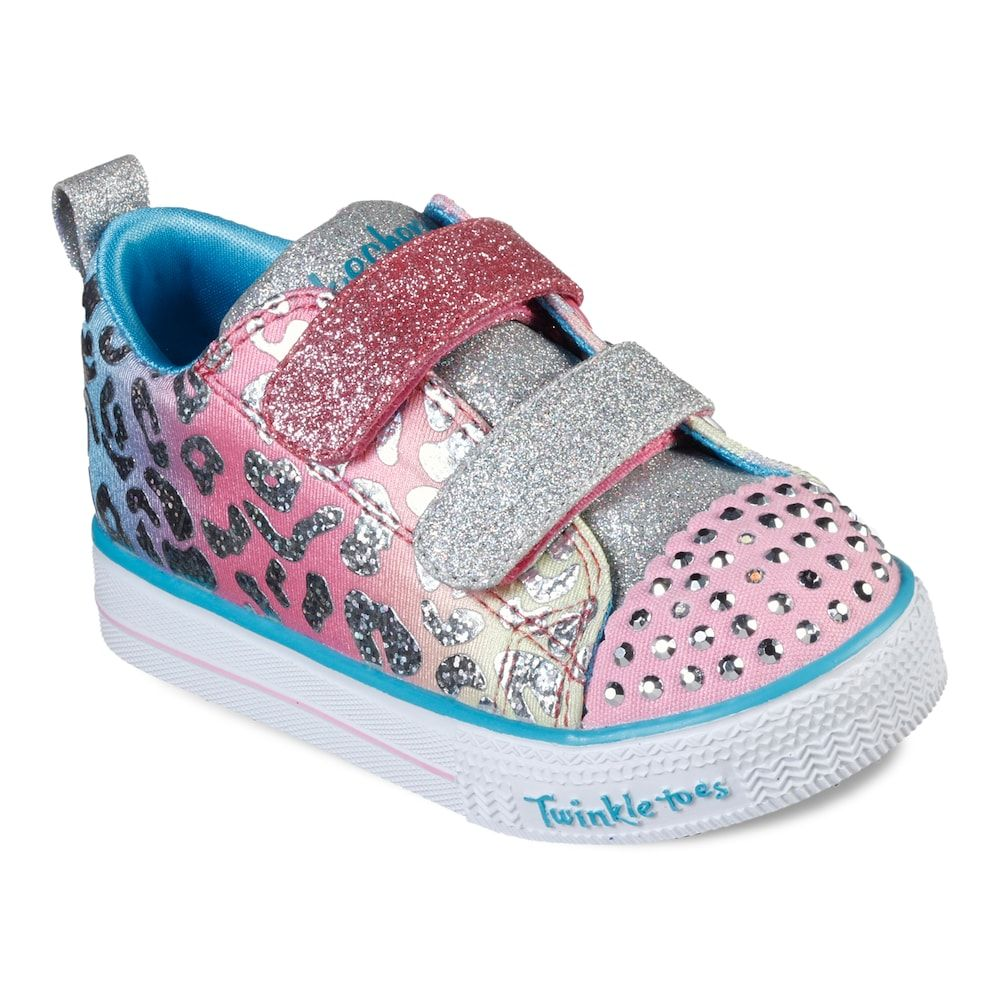 Skechers Twinkle Toes Shuffle Lite Toddler Girls' Light Up