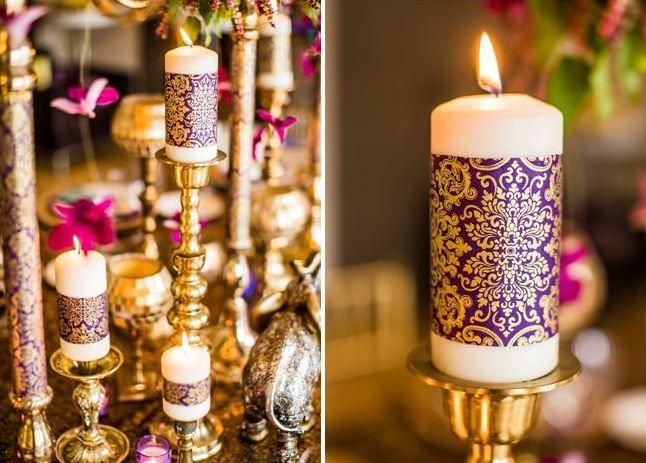 mon mariage esprit mille et une nuits weddings pinterest les bougies bougies et mariages. Black Bedroom Furniture Sets. Home Design Ideas