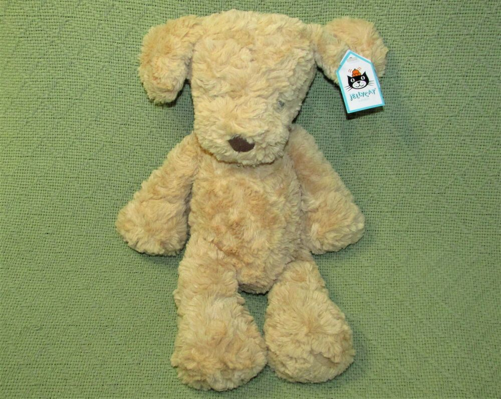 Jellycat Mumble Puppy 15 Stuffed Animal Tan Dog With Tag Soft Golden Plush Toy Jellycat Jellycat Stuffed Animals Animals Puppies