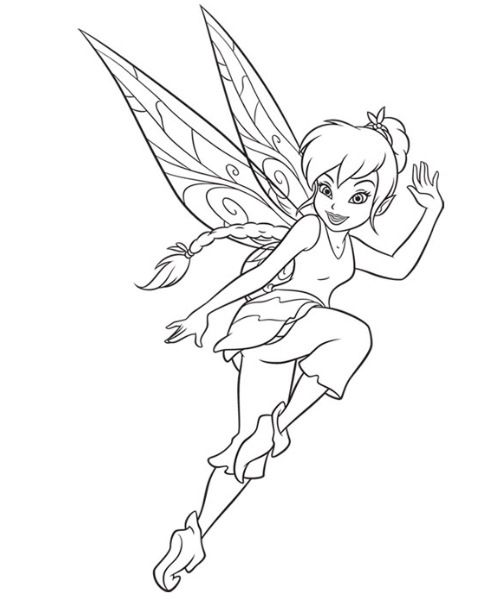 Fawn Coloring Page Disney Coloring Pages Pinterest Fairy