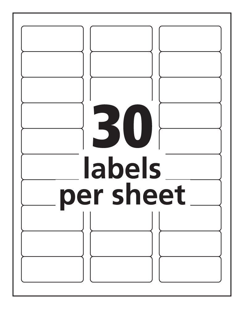 This is a picture of Crazy Avery Labels 8 Per Sheet Word Template
