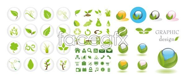 Vector Crystal Ball Green Icon Leaf Trees Crystal Ball Free Icons Png Icon