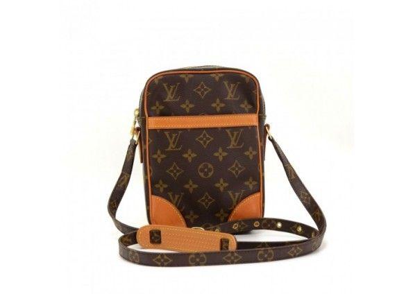 67053a64815 Vintage Louis Vuitton Mini Danube Monogram Canvas Shoulder Pochette ...