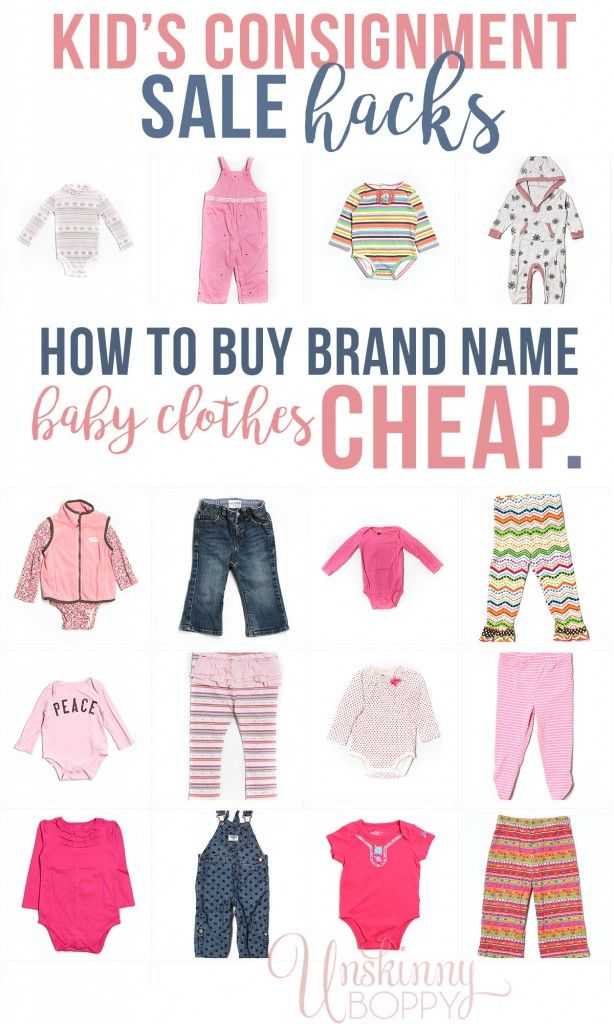 Kid S Consignment Sale Hacks How To Buy Brand Name Secondhand Baby Clothes Cheap From Thredup Kids Clothing Box Cheap Baby Clothes Inexpensive Kids Clothes