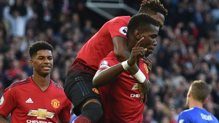 Manchester United Vs Leicester City Highlights Full Match Manchester United Leicester City Full Match