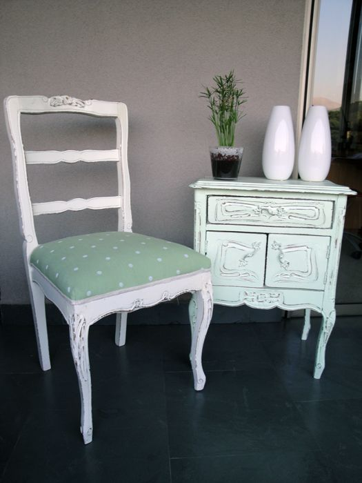 Muebles antiguos restaurados for the home pinterest for Muebles vintage reciclados