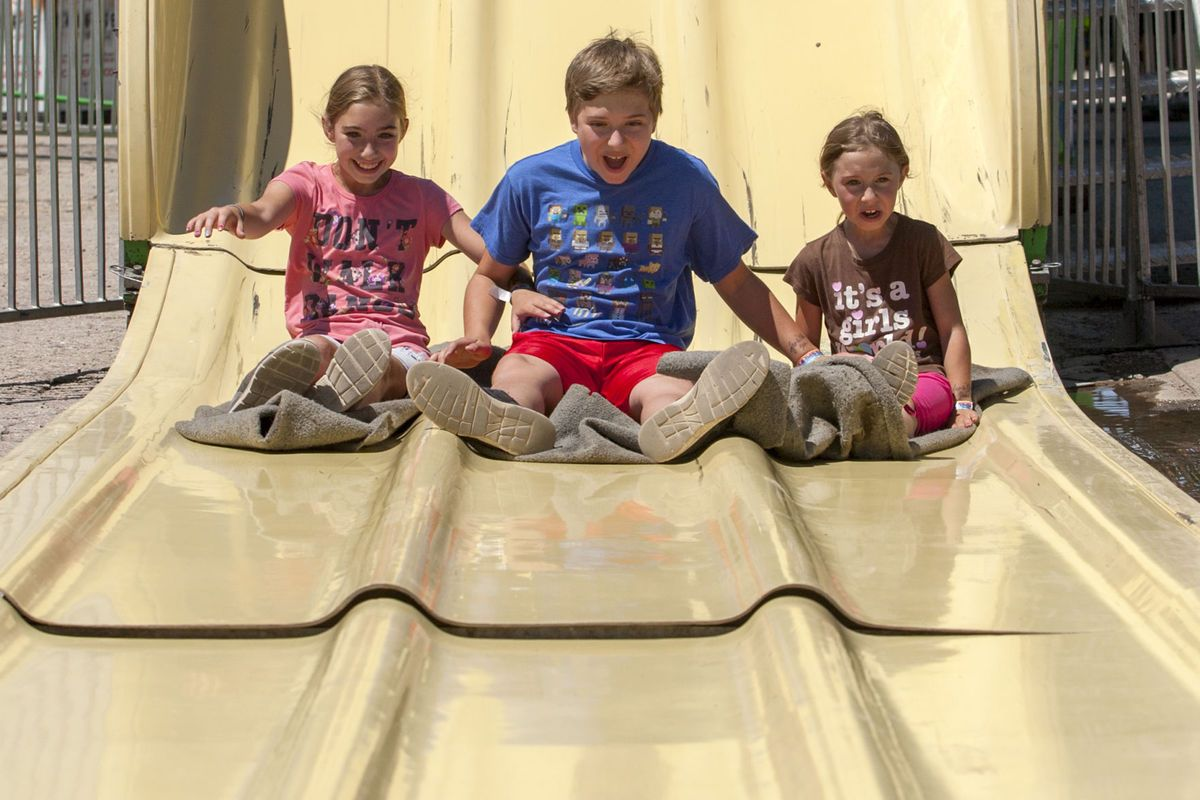 The Opbroek Siblings Go For A Slide At The Black Hills Roundup