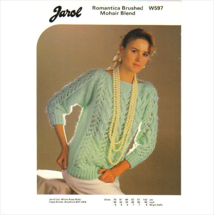 Jarol Knitting Patterns : Jarol 497
